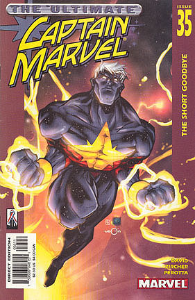 The last issue of the second series of Marvel Comics' 3rd Captain Marvel