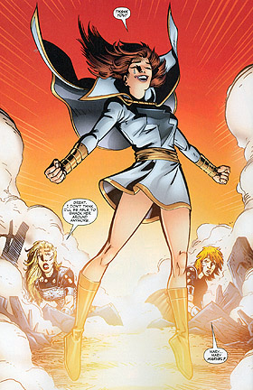 The Rebirth of Mary Marvel in 'Countdown to Infinite Crisis' #10