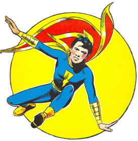 Captain Marvel Jr. by Mac Raboy