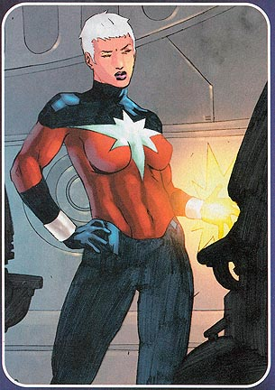 The New Captain Marvel